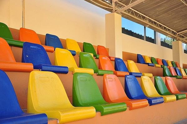 ghế nhà thi đấu
